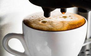 Coffee machine for computer games development company