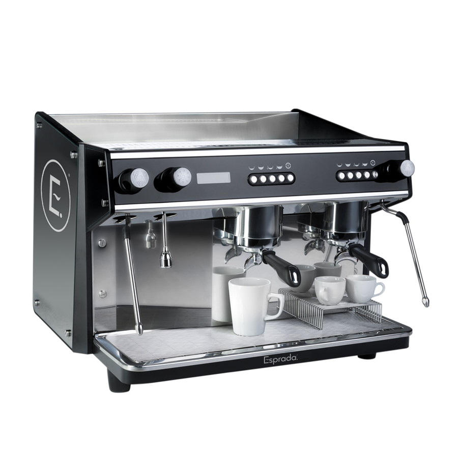 Esprada T25 traditional coffee machine branded