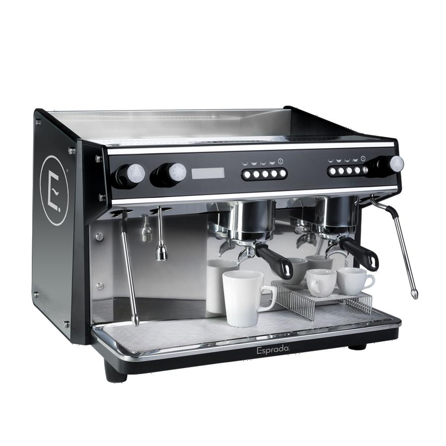Esprada T25 traditional coffee machine branded