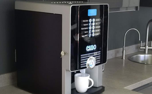 Bean-to-cup coffee machine solutions at Flexeye